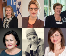"UEHP celebrates the International Women's Day with a special edition of its newsletter ""UEHP Ladies First"""