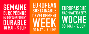 "Our May Newsletter is online! – Focus on ""European Sustainable Development Week"""