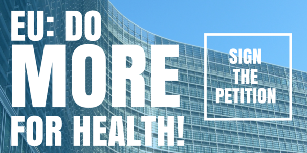 "UEHP joins the ""EU: DO MORE FOR HEALTH!"" initiative"