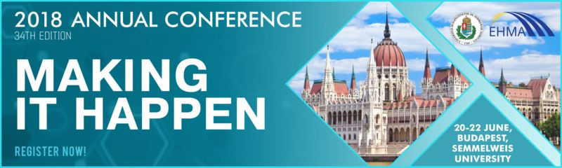20-22 June, Budapest: EHMA 2018 Annual Conference