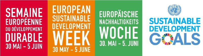 "Our May Newsletter ""Special edition on European Sustainable Development Week 2018""  is online!"