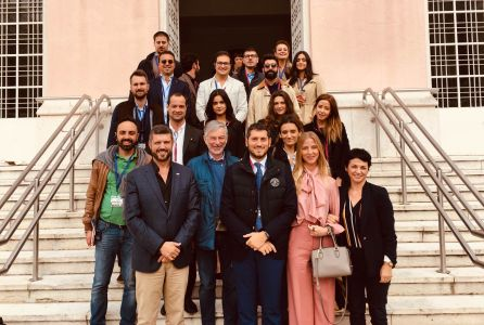 AIOP Giovani delegation makes a study tour in Portugal